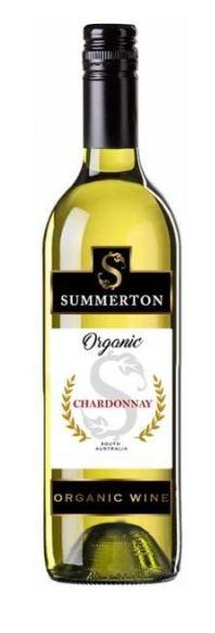 Summerton Organic Chardonnay 2016 (6 x 750mL) SA