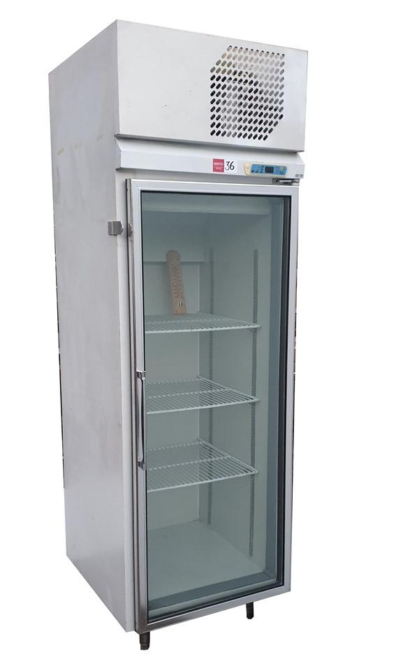 KOLDTECK MOD: TSR-1 SINGLE GLASS DOORS UPRIGHT FRIDGE MODEL GS1000D