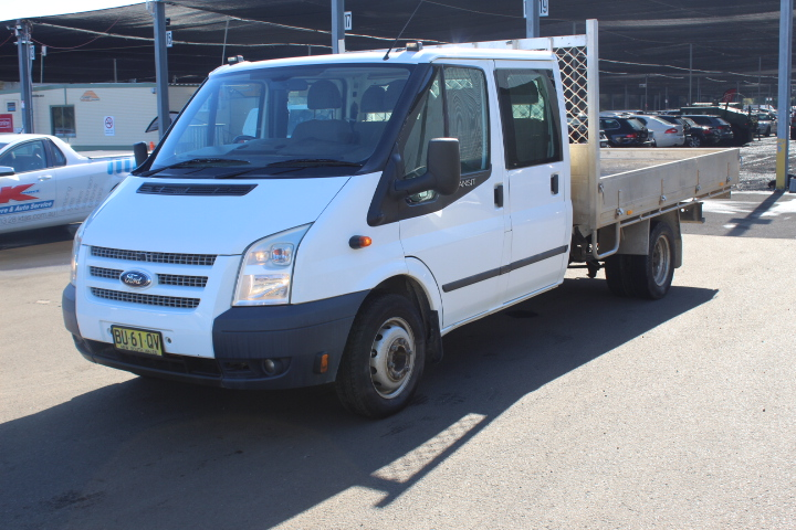2013 (Comp) Ford Transit Extended Frame VM T/Diesel Manual 7 Seat C/Chassis