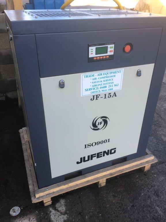 2014 Jufeng JF-15A 0.8 Mpa Screw Compressor