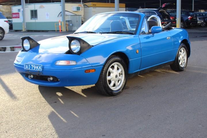 1989 Mazda MX5 RWD Manual Convertible
