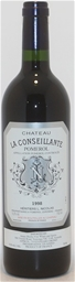Chateau La Conseillante 1998 (1x 750ml), Pomerol.5 Star Prov