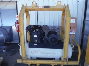 Ingersoll Rand Air Compressor Skid Mounted