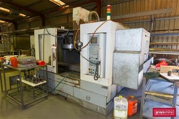 CNC Vertical Machining Centre