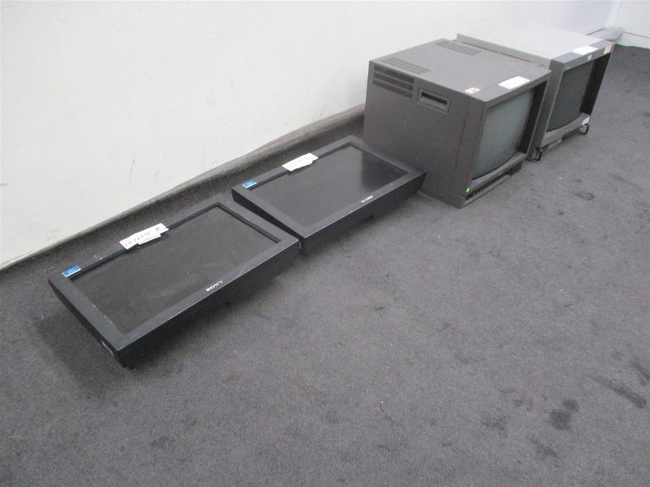 Qty 4 x Various Monitors
