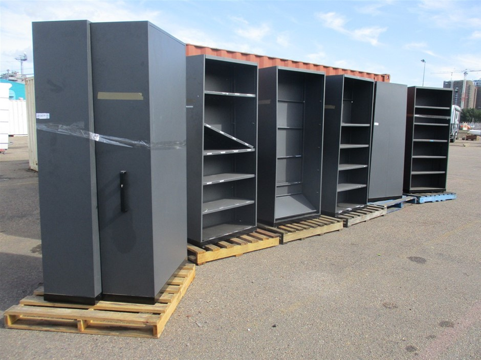 Qty 2 x Compactus Shelving Units