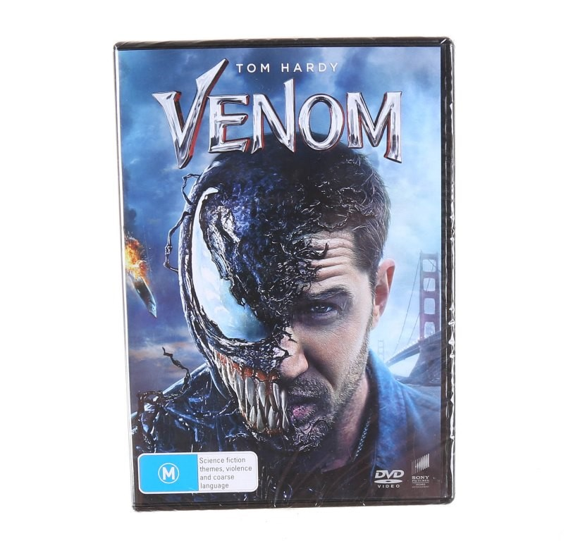 2 x TOM HARDY`S VENOM (2018) DVD`s, Genre: Action, Rated M. Buyers Note - D