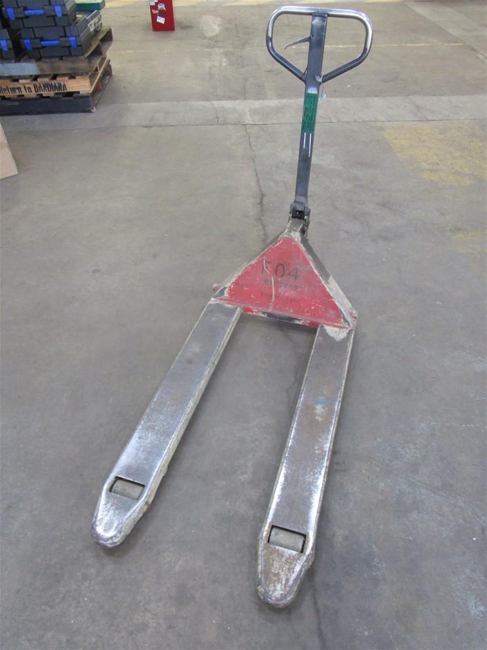 (Lot 284) Pallet Trolley Jack