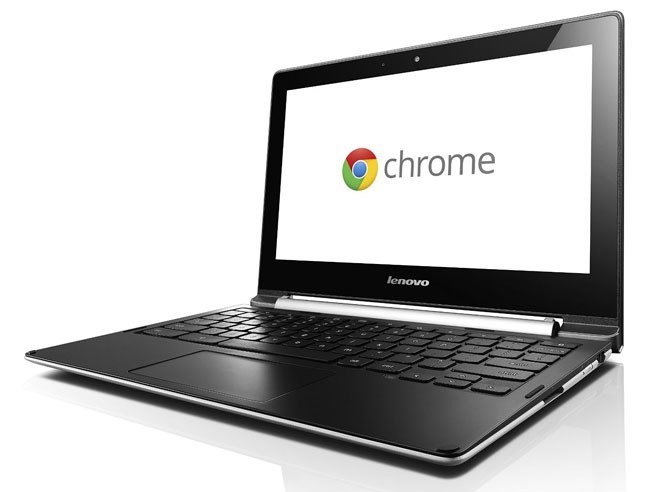 Lenovo N20 11.6-inch Chrome Notebook, GreyBlack