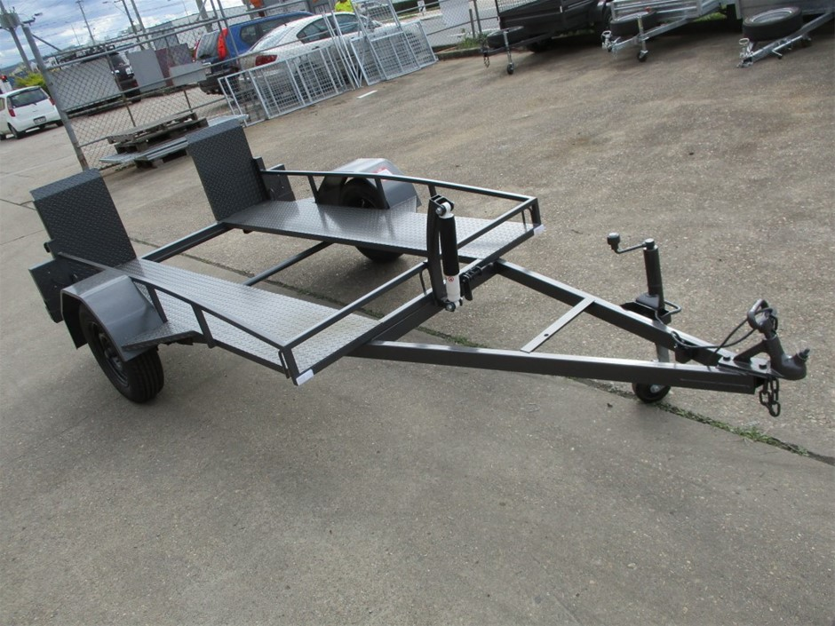 05/19 PBL Trailers Single Plant Golf Buggy Trailer
