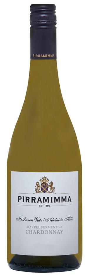 Pirramimma Barrel Fermented Chardonnay 2017 (6 x 750mL) Export USA Label