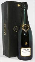 Bollinger `La Grande Annee` Champagne 1995 (1x 750ml), . Cork closure.