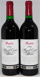 Penfolds `Magill Estate` Shiraz 1998 (2 x 750mL), Adelaide, SA.
