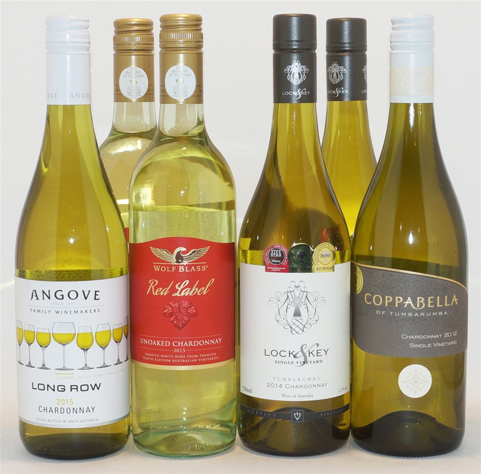 Mixed Chardonnay Pack (6x 750mL)
