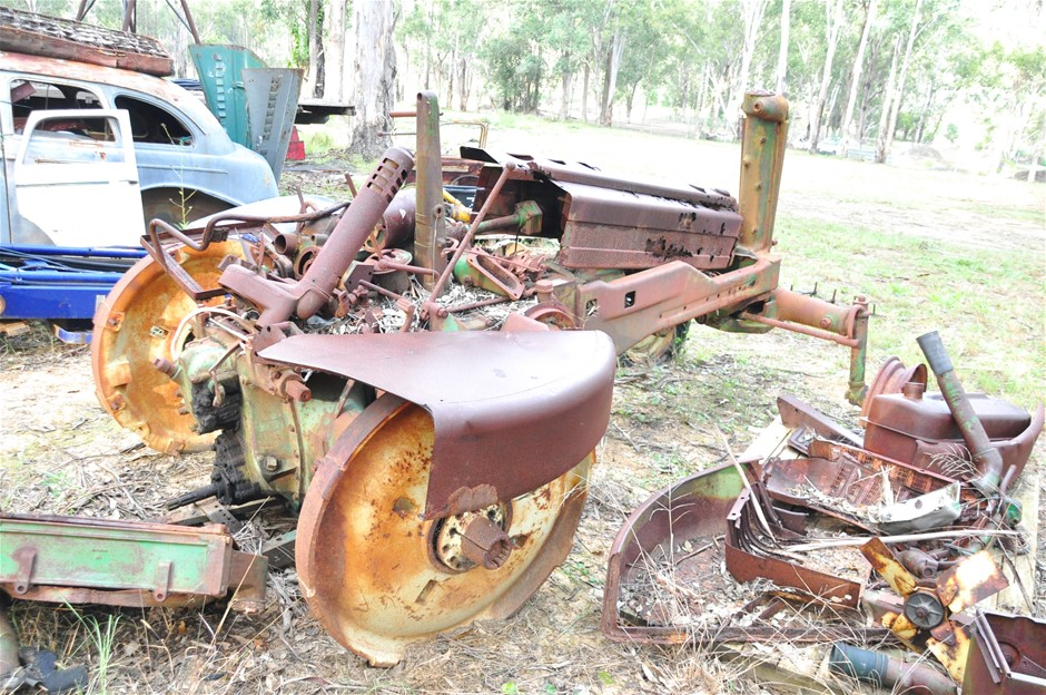 2 x 'John Deere' Tractors, thought to be 1948/1949