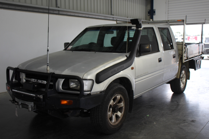 2000 Holden Rodeo LX (4x4) Turbo Diesel Dual Cab
