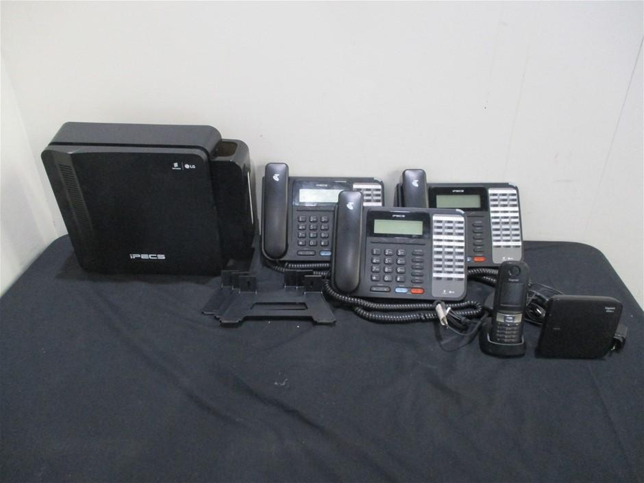 Ericsson/LG IPECS eMG80 Phone System