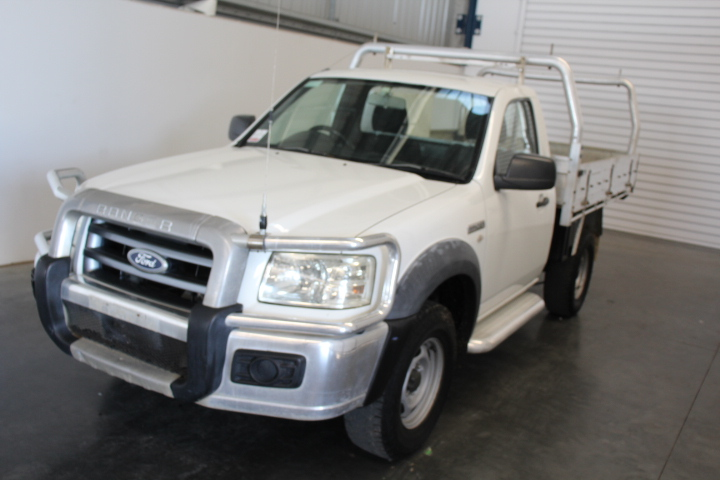 2008 Ford Ranger XL PJ Turbo Diesel Cab Chassis