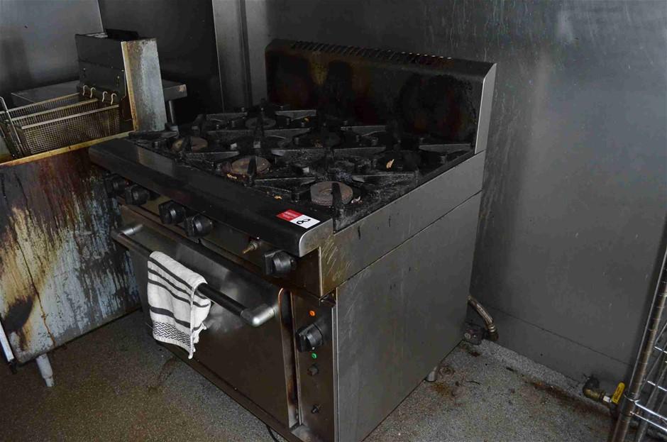 6 Gas Burner & Oven