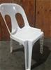 12 x Alfresco Plastic Stacking Chair White