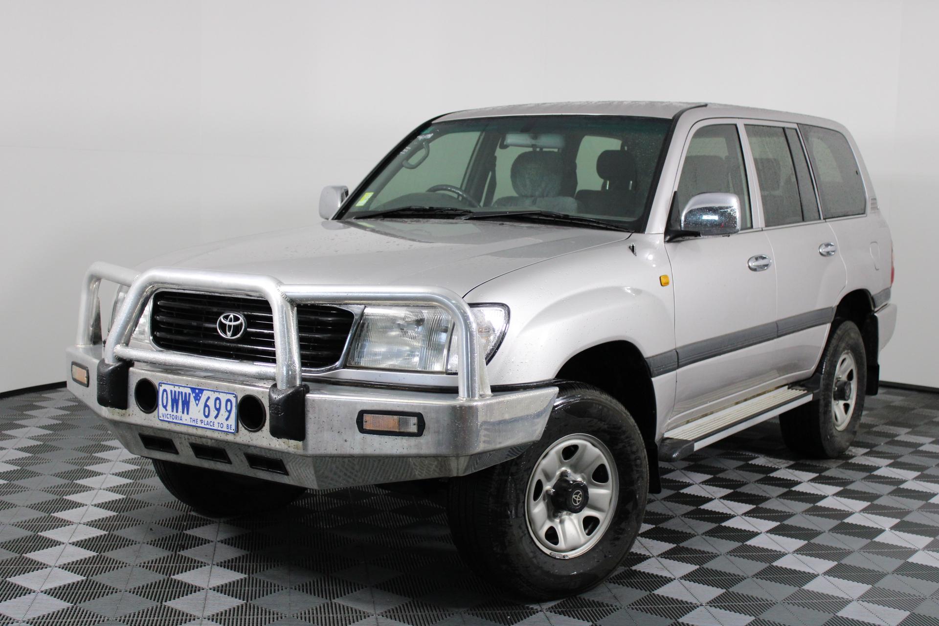 2001 Toyota Landcruiser GXL (4x4) HDJ100R Turbo Diesel Auto 8 Seats Wagon