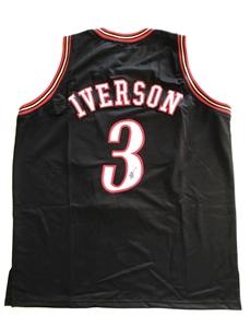 100% authentic c73da acb31 Allen Iverson Signed 76ers Jersey JSA (Pooraka, SA)