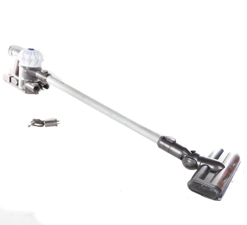 DYSON V6 Cord Free Vacuum Cleaner c/w 6 Attachments, Wall Mount Bracket & C