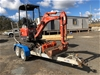 Kubota Mini Excavator and Trailer Unit