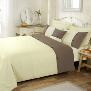 Amal King Bed Quilt Cover Set by Anfora