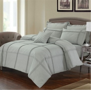 Avoca Single Bed Quilt Cover Set by Anfo