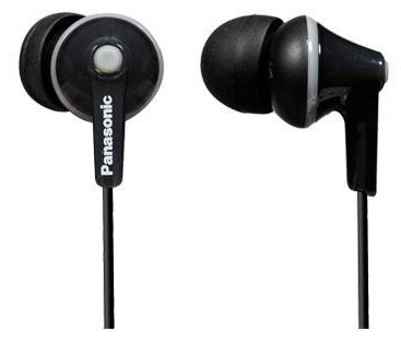 Panasonic RP-HJE125E-K In-Ear Headphone (Black)