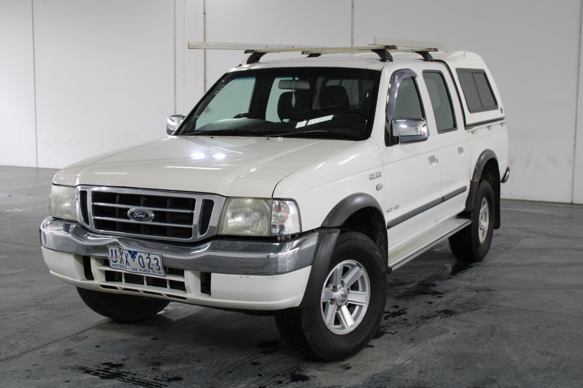 2005 Ford Courier GL (4x4) PH Automatic Dual Cab