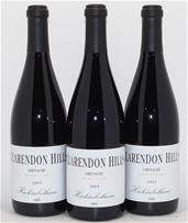 Clarendon Hills `Hickinbotham` Cabernet Sauvignon 2005 (3 x 750mL), SA.