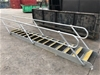 <b>Galvanised Steel Staircase 4.1 Long x .720 Wide</b>