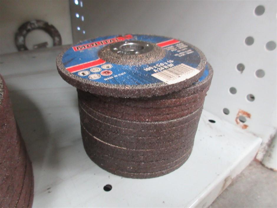 14x Molital 100mm Grinding Discs