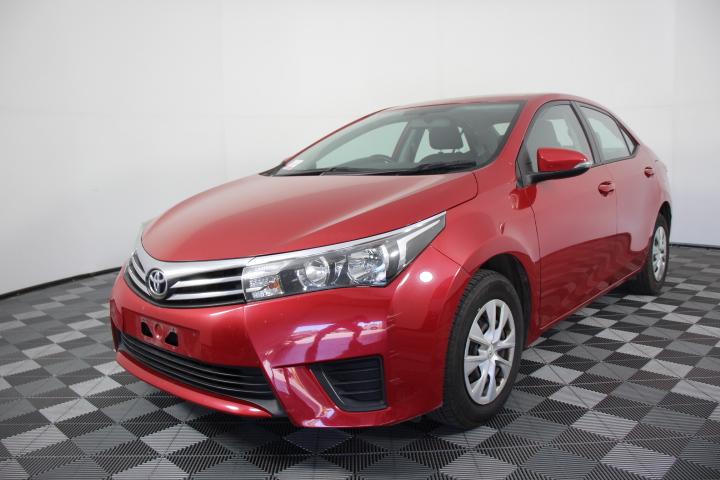 2014 MY15 Toyota Corolla 4 Cylinder Auto (Service History)