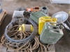 Gerry Cans, Rope, Wire, Tools, etc
