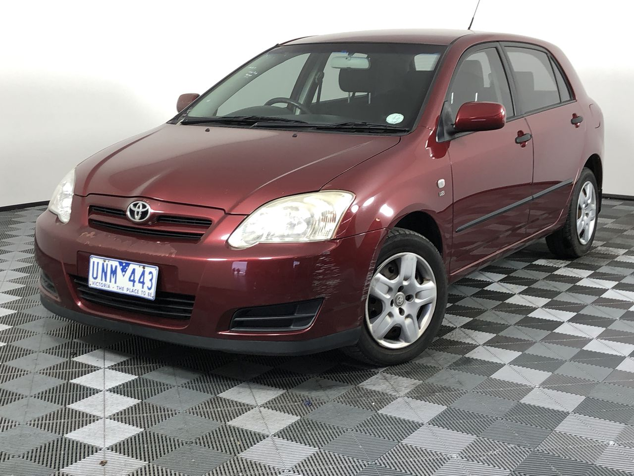 2005 Toyota Corolla Ascent Seca ZZE123R Automatic Hatchback