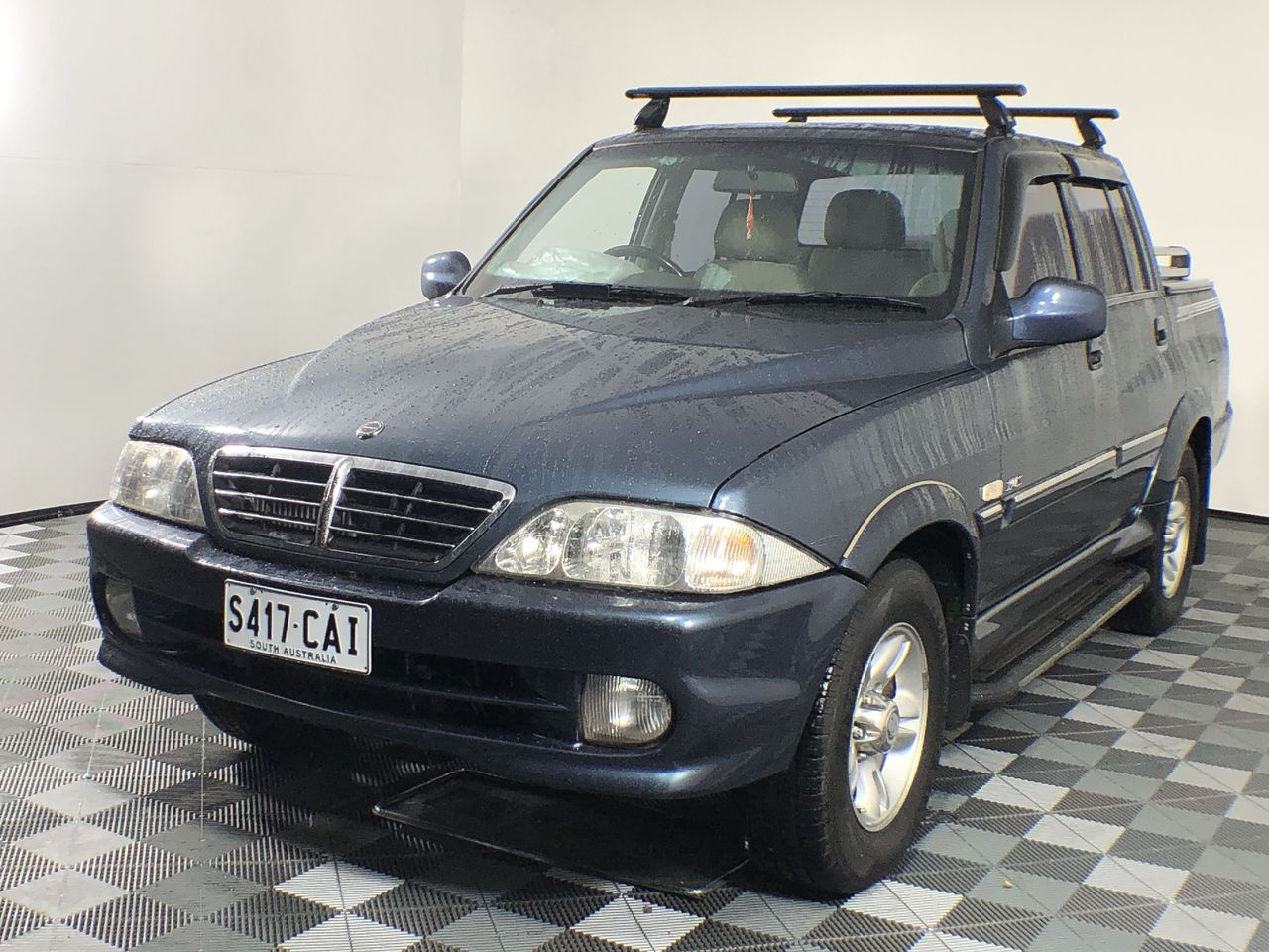2005 Ssangyong Musso Sports Turbo Diesel Automatic Ute