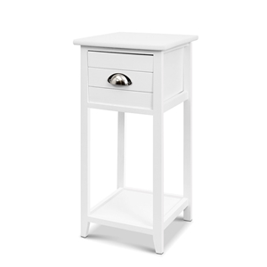Artiss Bedside Table Nightstand Drawer S