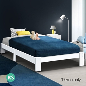 Artiss King Single Size Wooden Bed Frame