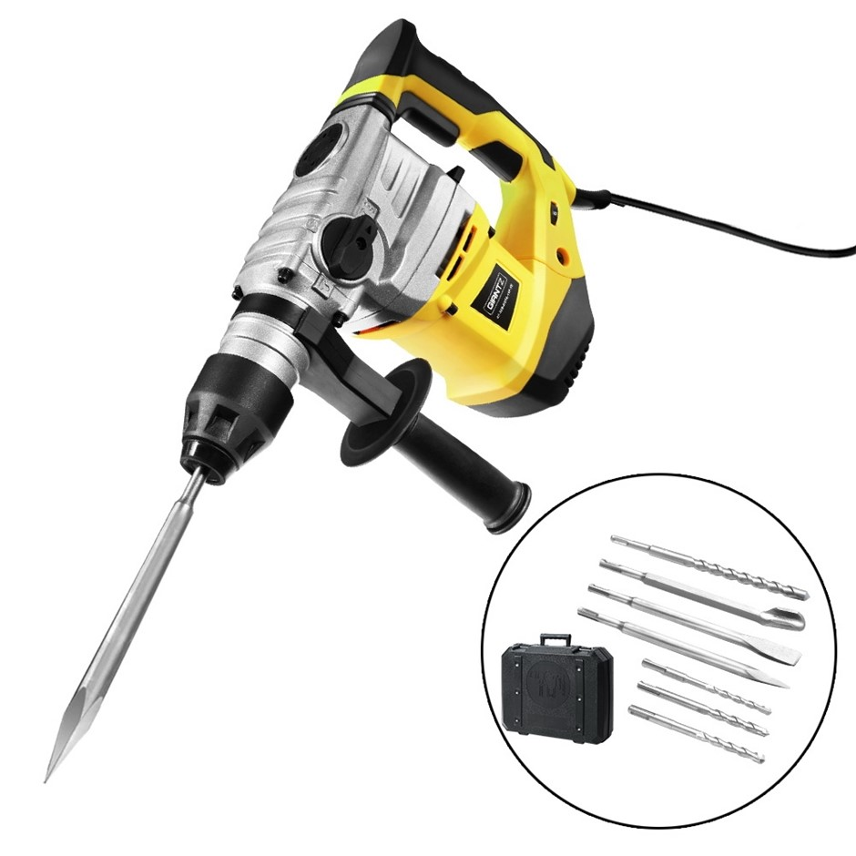 Giantz 2000W Jack Hammer Electric Demolition Rotary Concrete Drill