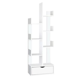 Artiss Wooden Tree Storage Display Shelf