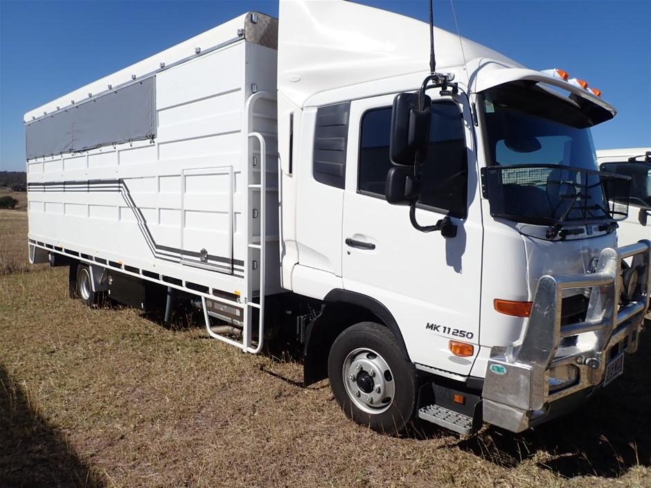 2016 U.D. Condor MK II 250 4 x 2 Cattle Truck
