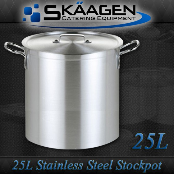 Unused Stock Pot 25L