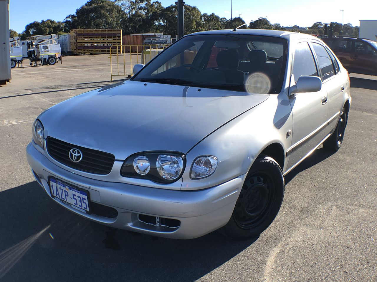 2001 Toyota Corolla Ascent Seca AE112R Automatic Hatchback