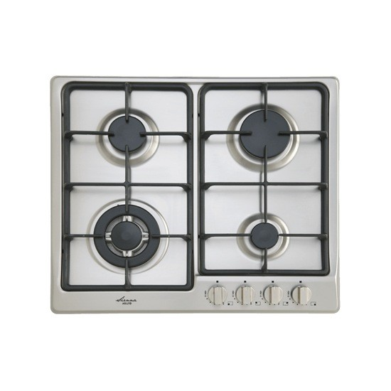 Euro 60cm 4 burner stainless steel gas cooktop, Model: EGZ60WCTSXS