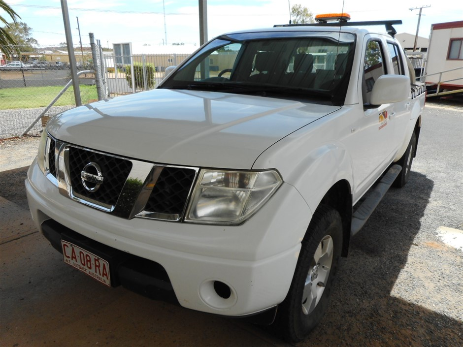 Nissan Navara D40 ST 4WD Manual Dual Cab Ute