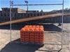 Qty of 10 x Temporary Fence Panels