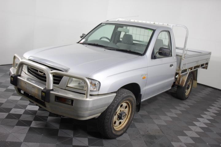 2002 (2003) Mazda B2500 Bravo DX (4x4) T/Diesel Cab Chassis 65,848km